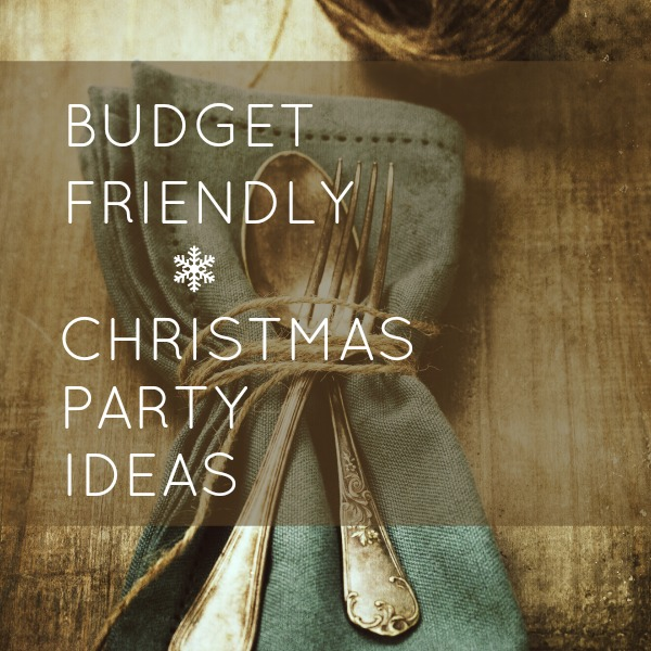 Cheap Christmas Party Ideas Part - 45: BUDGET-FRIENDLY-CHRISTMAS-PARTY-IDEAS