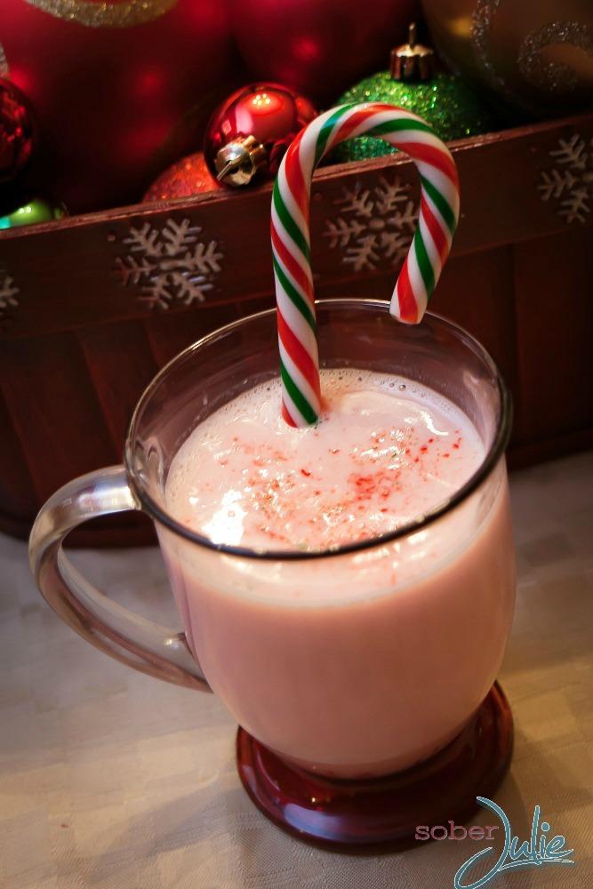 Candy Cane Hot Chocolate fresh