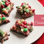 M&M Christmas Bar Recipe – Christmas Cookie Week #ChristmasCookies