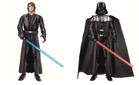 Star Wars Anakin to Darth Vadar Action Figure