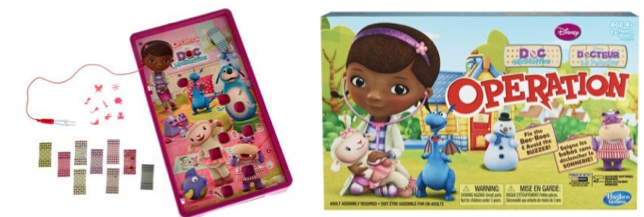 OPERATION: Doc McStuffins Edition Game