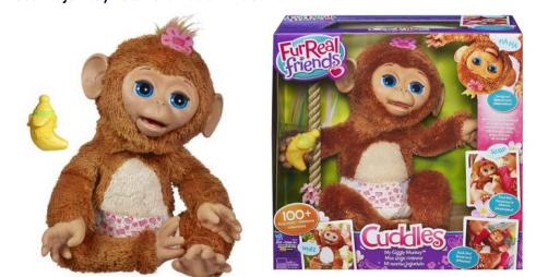 hasbro toys furreal monkey