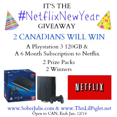 netflix playstation 3 giveaway