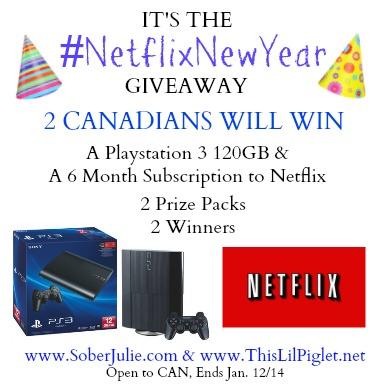 netflix playstation 3 giveaway