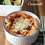Healthy Pizza Casserole Recipe