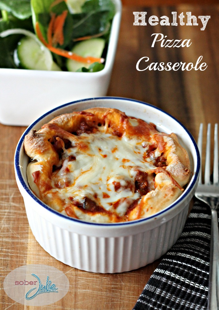 Healthy Pizza Casserole Recipe