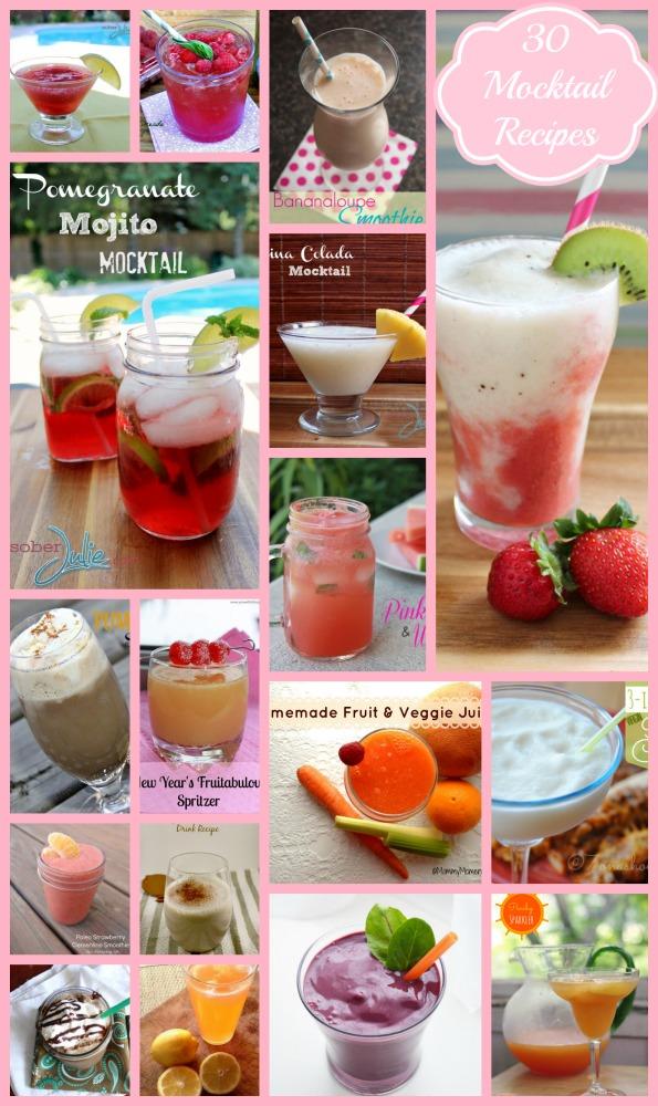 30 Non Alcoholic Drink Recipes