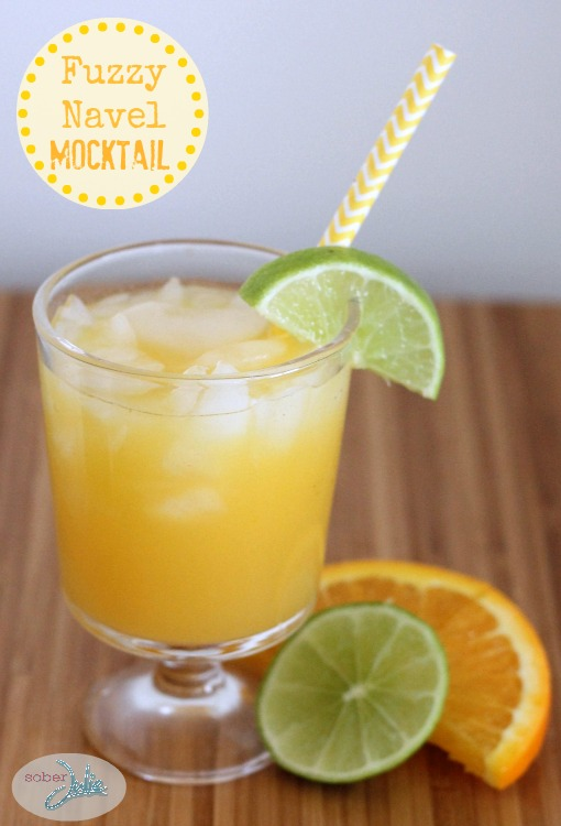 Fuzzy Navel Mocktail
