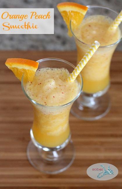 orange peach smoothie recipe
