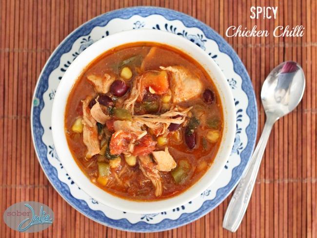 spicy chicken chilli