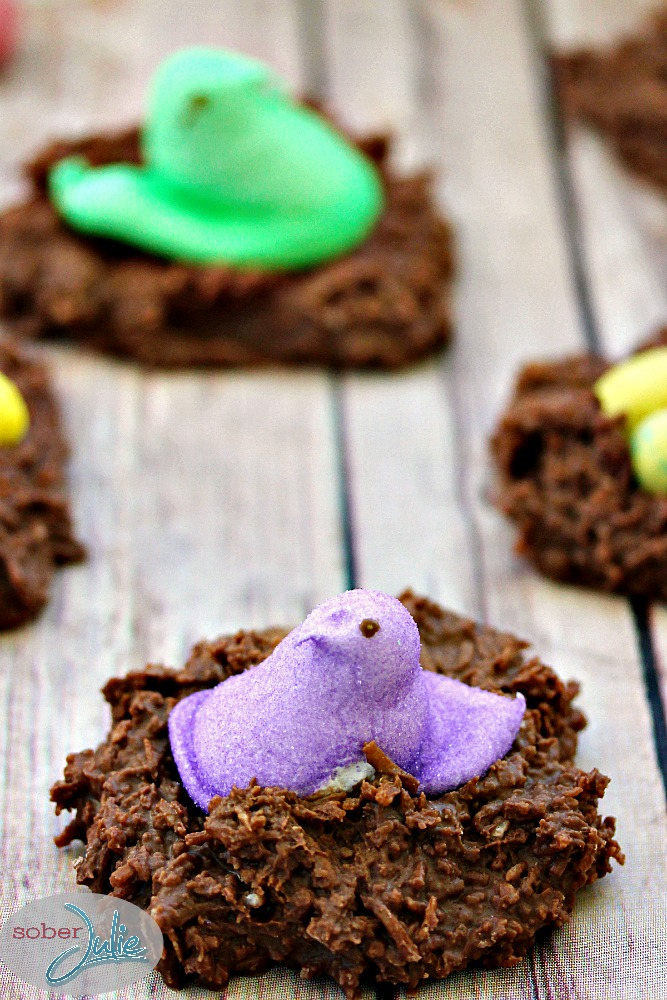 Coconut easter nests a simple delicious easter dessert for Easy dessert recipes for easter