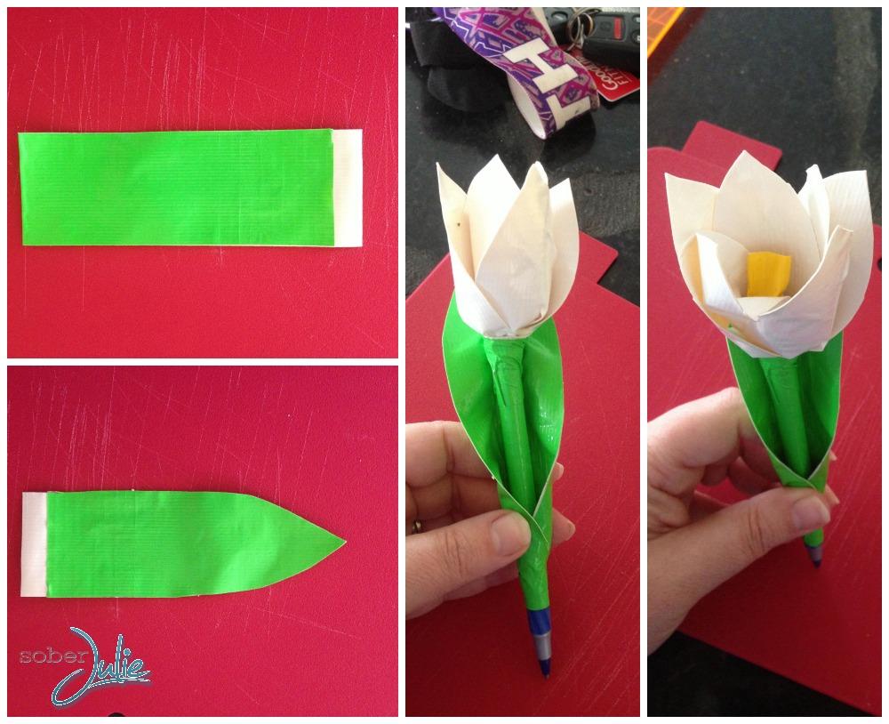 duck tape tulip pen leaf.jpg