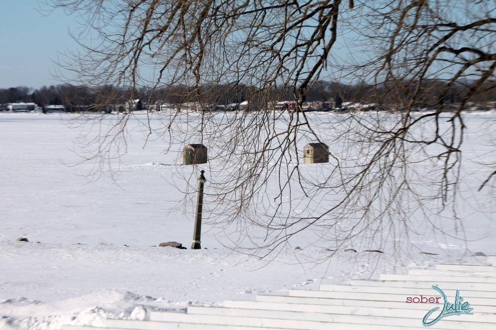 fern resort winter ice fishing