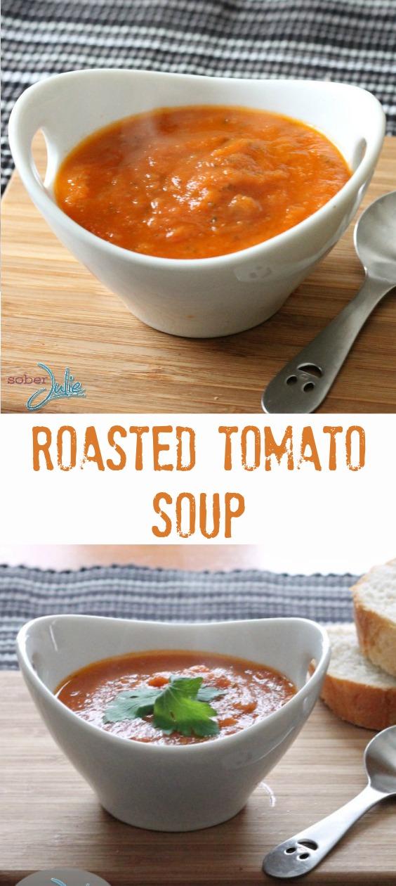Roasted tomato soup recipe