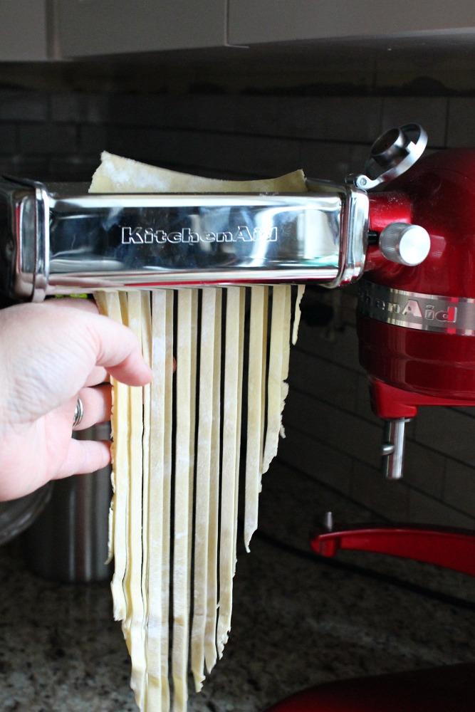 kitchenaid pasta fettuccinie press