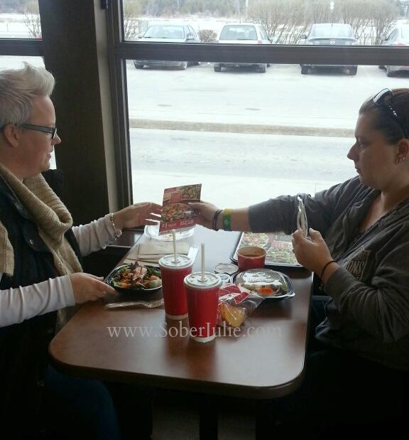 ladies lunch wendys