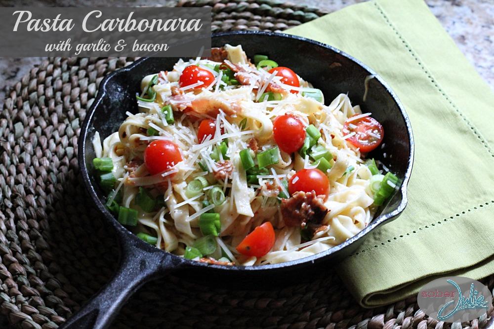 Easy Pasta Carbonara - Yummiesta  Delicious Pasta Carbonara