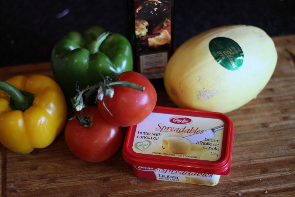 spaghetti squash ingredients