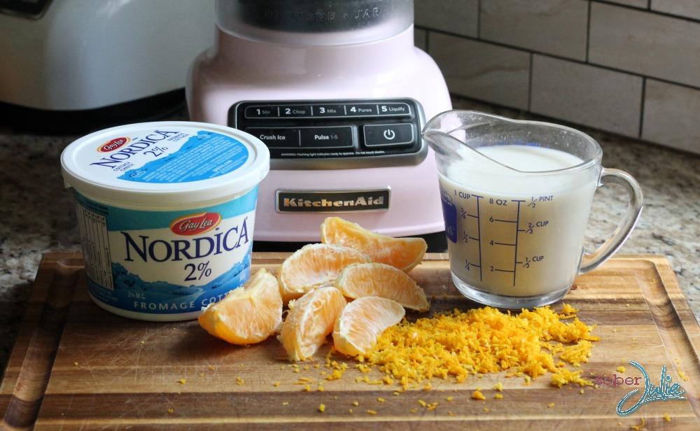 orange creamsicle smoothie ingredients