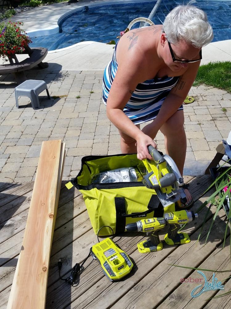 ryobi tools sober Julie