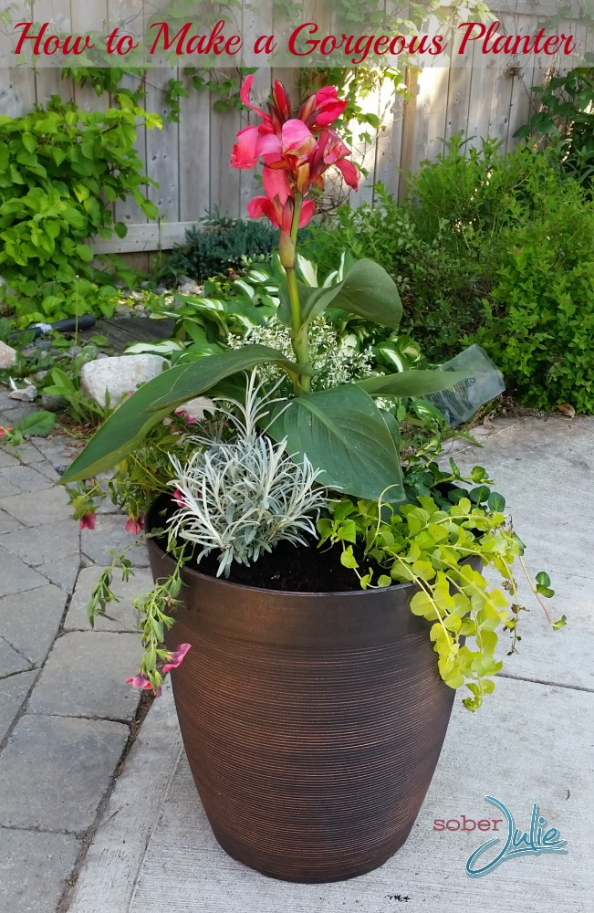 How to Make a Gorgeous Planter