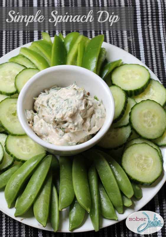 Simple Spinach Dip Recipe