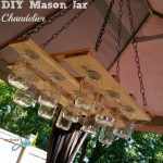 DIY Mason Jar Chandelier Project