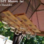 DIY Mason Jar Chandelier Project
