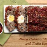 Nanny Hudson's Meatloaf with Hard Boiled Eggs