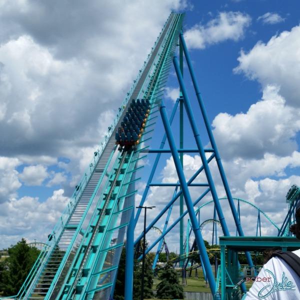 Canada's Wonderland Leviathan start