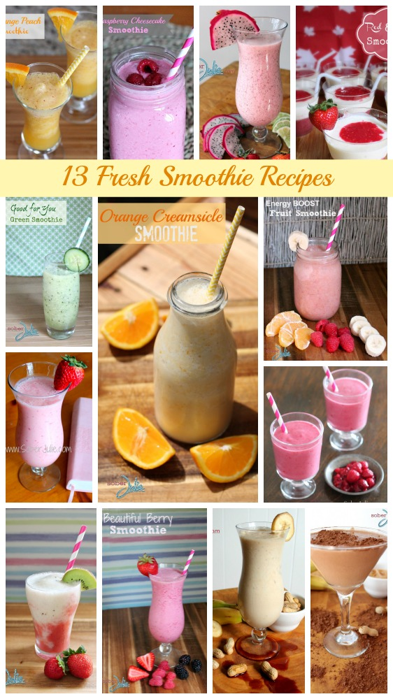 fresh smoothie recipes