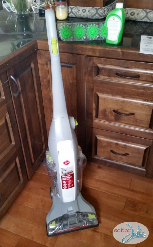 hoover floormate deluxe out of box