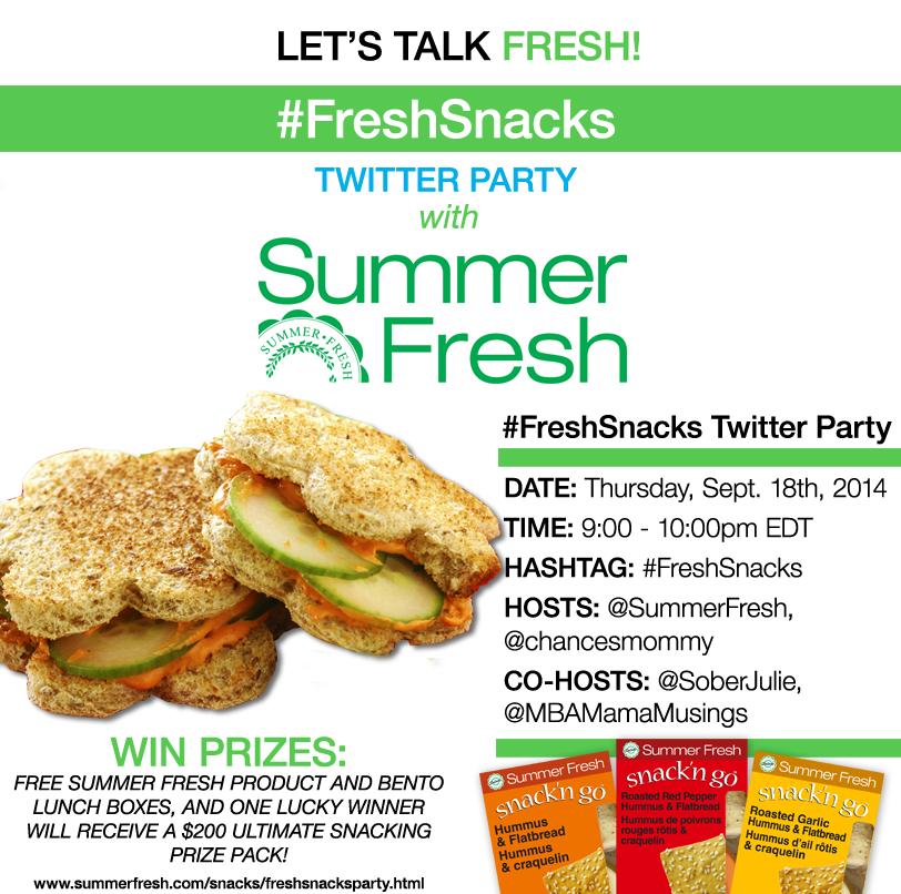 FreshSnacksParty-Blogger