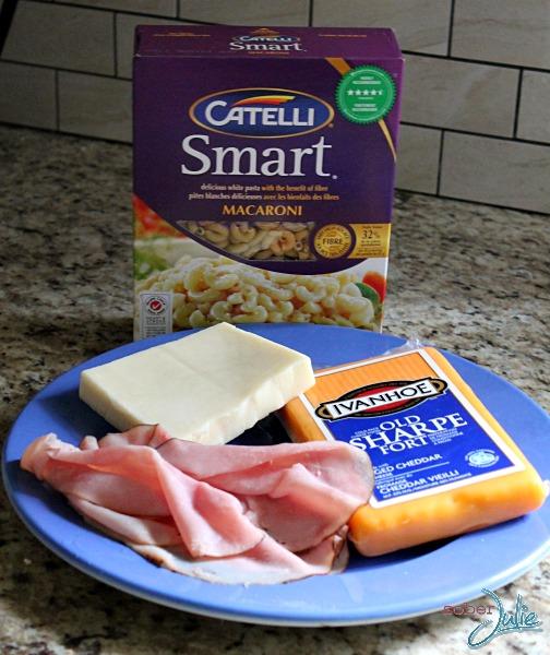 mac 'n cheese cup ingredients