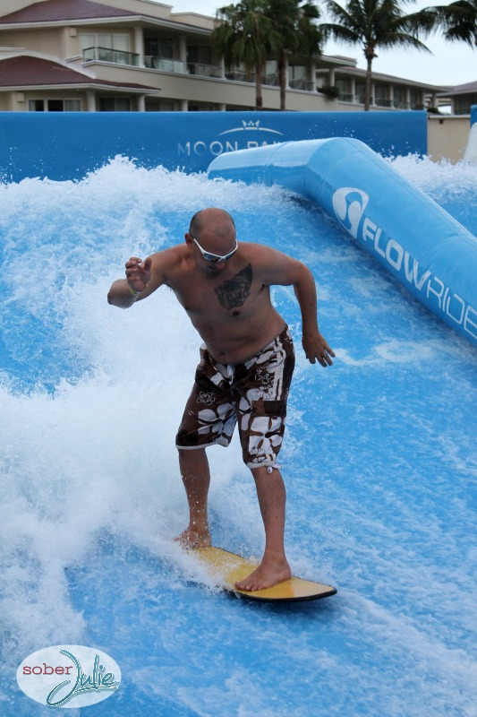 learn to surf flowrider