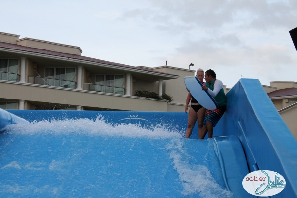 learning to surf flow rider boogie board