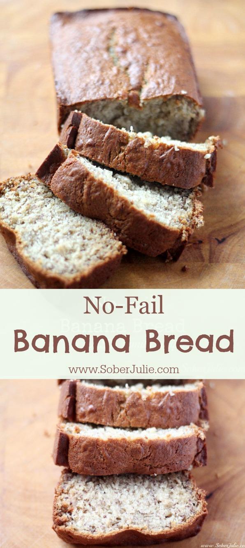 no fail banana bread recipe
