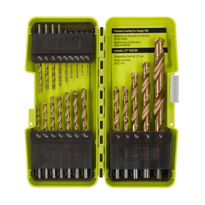 ryobi 21 pc drill bit kit 400