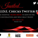 Twitter Party Alert! #RideChecks Dec 10th