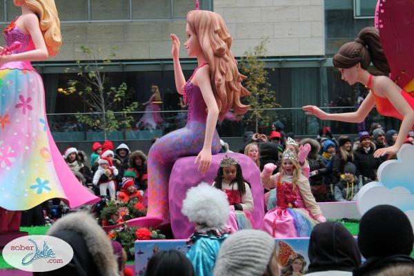 barbie santa claus parade toronto