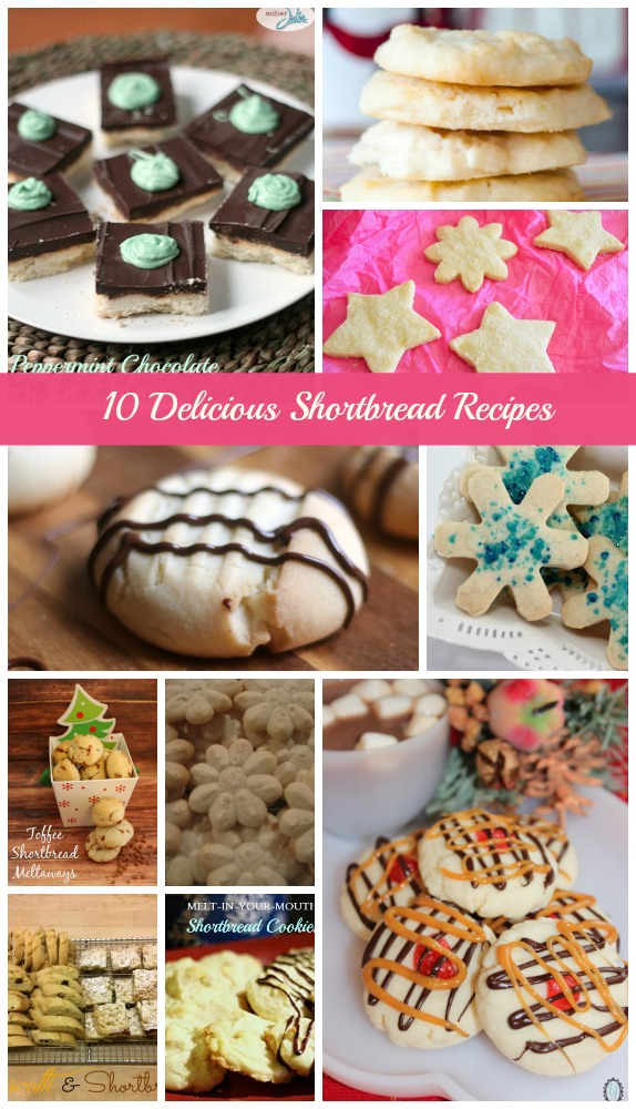 shortbread recipes