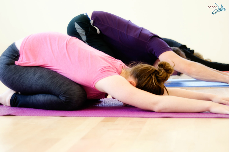Child Pose yoga pose wm