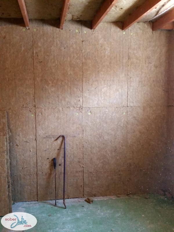 basement renovation roxul insulation