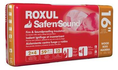 Roxul Safe N Sound Insulation