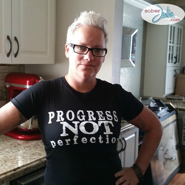 progress not perfection in recovery sober