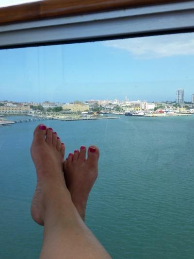 carnival liberty balcony view