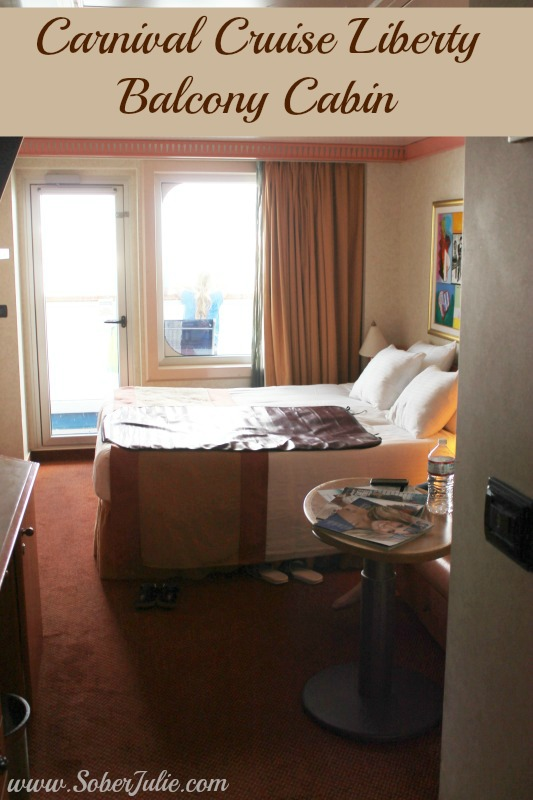 Carnival Cruise Liberty Balcony Room Review