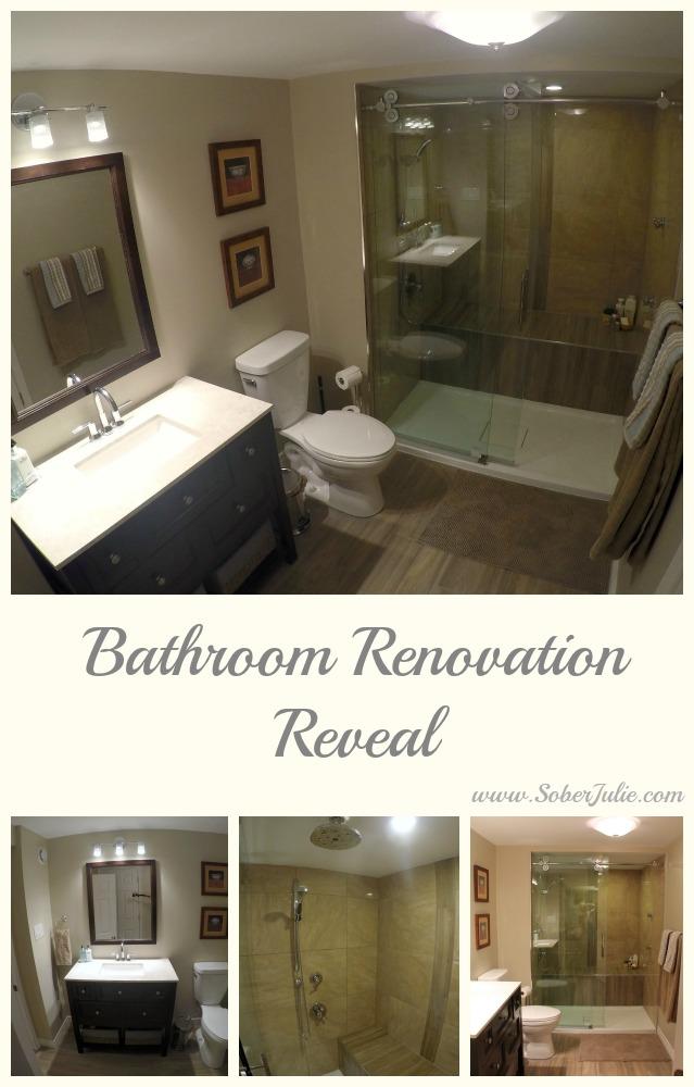 bathroom renovation reveal