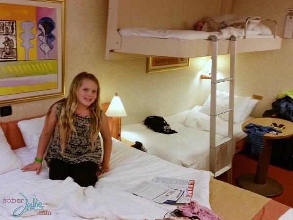 carnival cruise liberty balcony cabin pullman bed