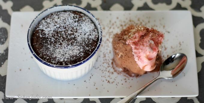 carnival cruise warm chocolate melting cake melt on plate